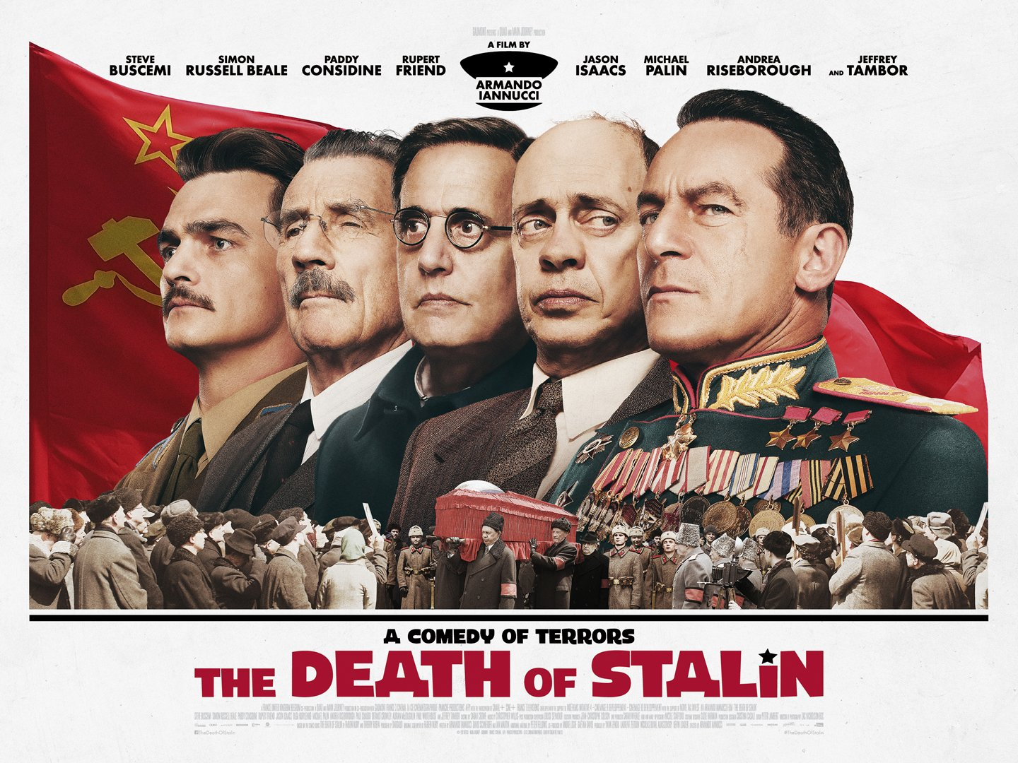 The Death of Stalin publicity poster.
