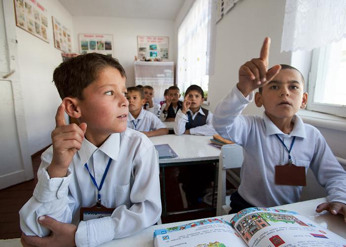 The teachers are being paid around $80 monthly by Tajikistan, but that salary is being topped up with another $890 from the Russian government. (Photo: David Trilling)