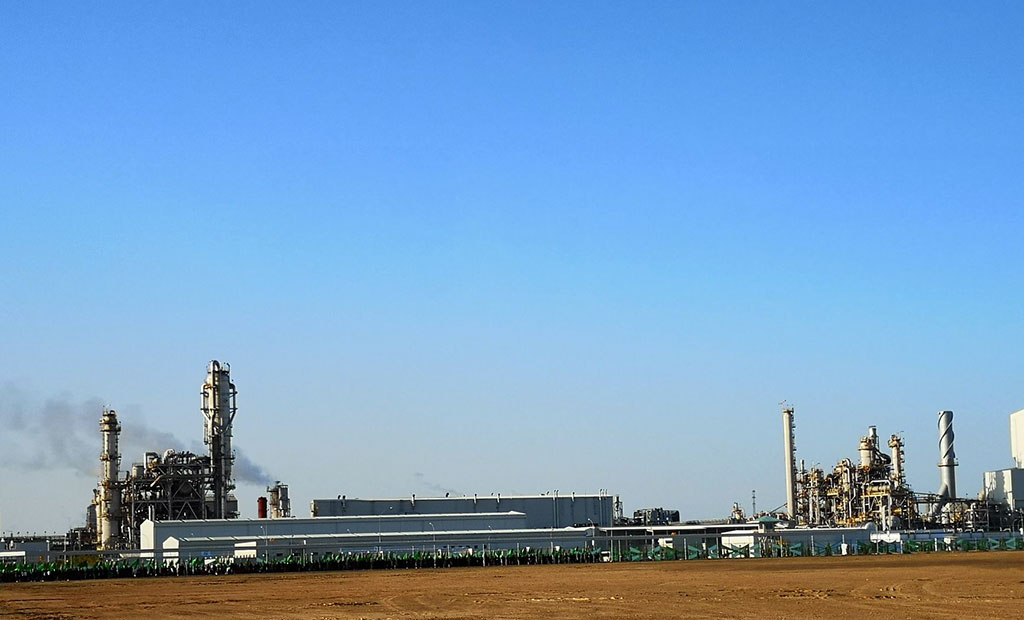 The Garabogaz ammonia and urea fertilizer plant