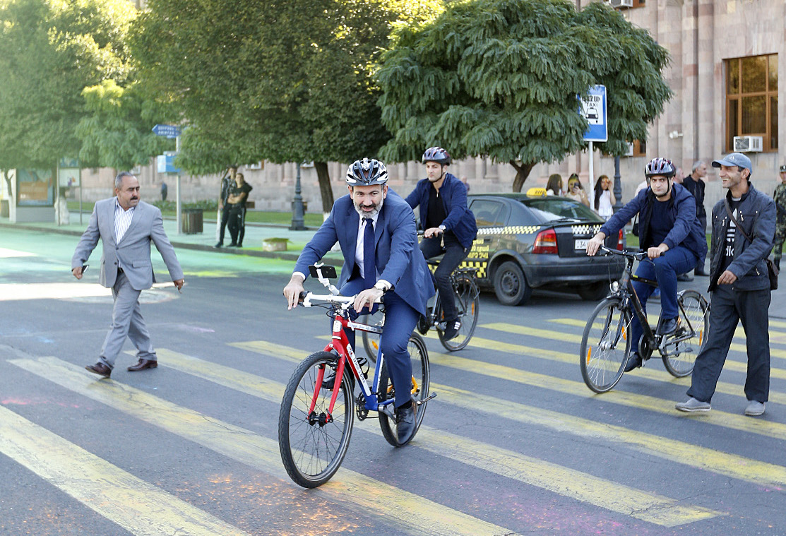 Pashinyan bicycle