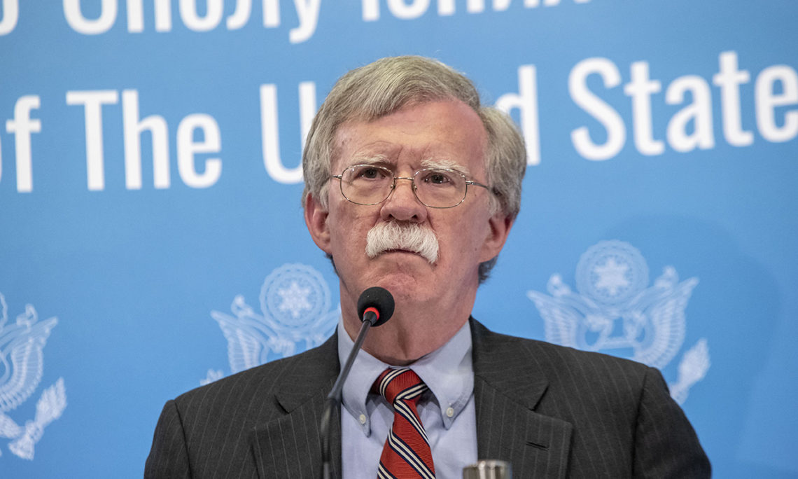 Bolton visits Caucasus amid anti-Iran campaign