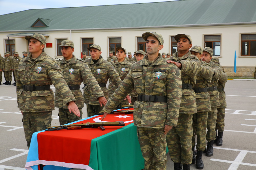 Azerbaijani oath-taking ceremony on November 9, 2018