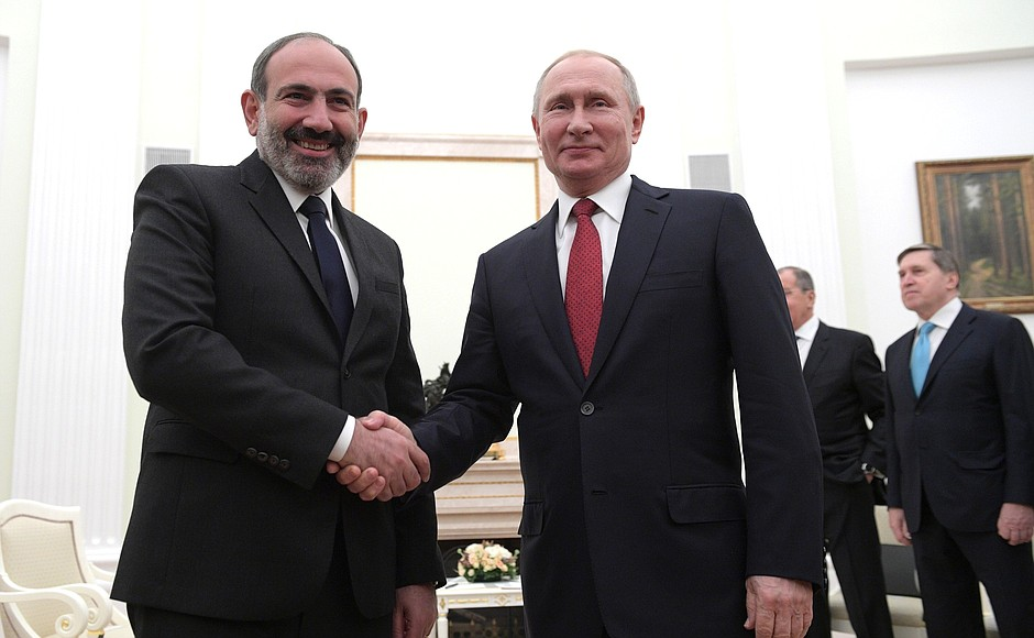 pashinyan and putin