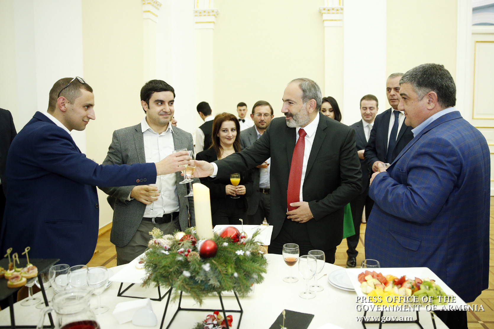 Pashinyan and the press