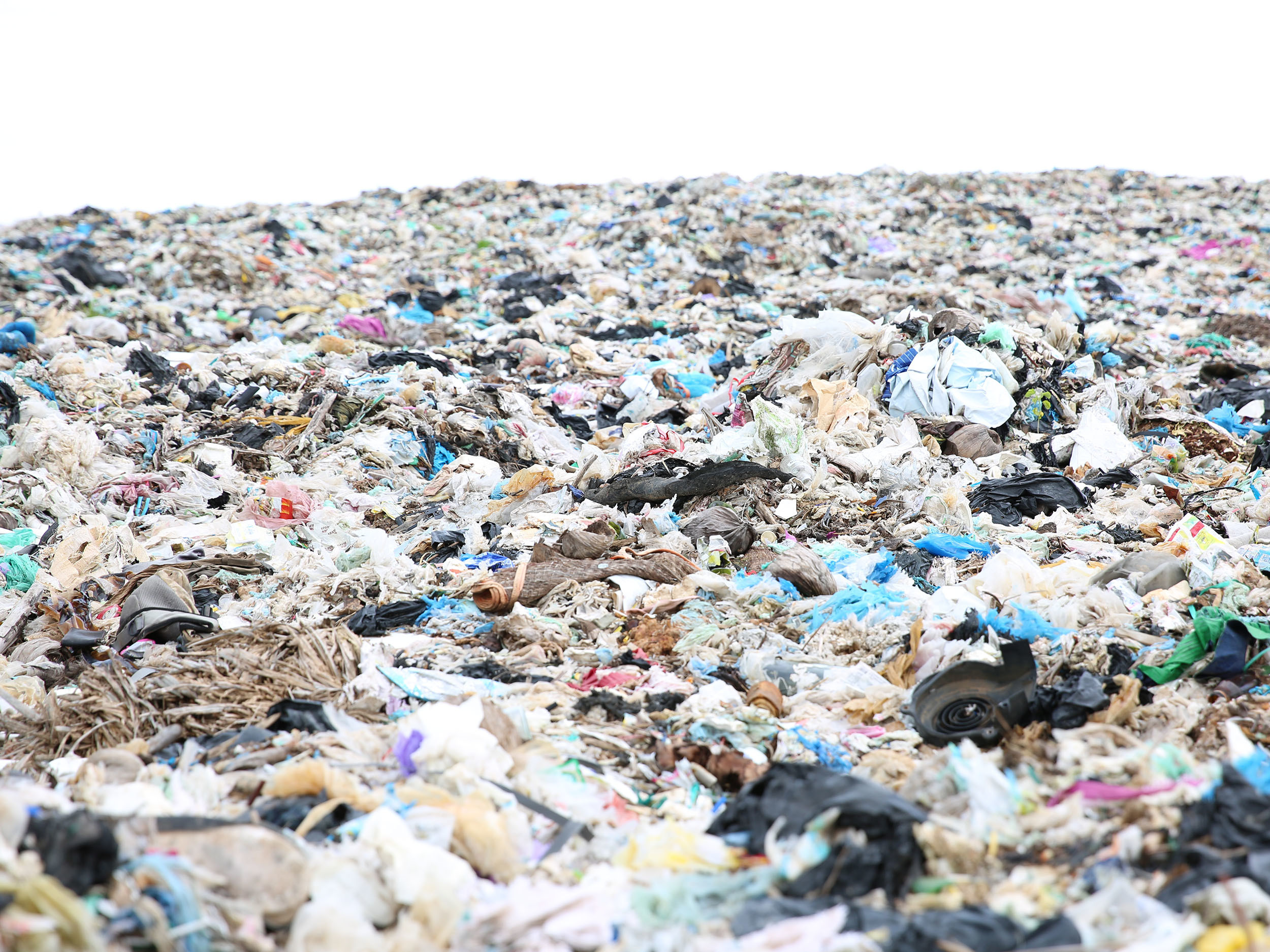 What a load of rubbish: A quarter of trash in Kyrgyzstan's landfills is plastic. (Photo: UNDP)