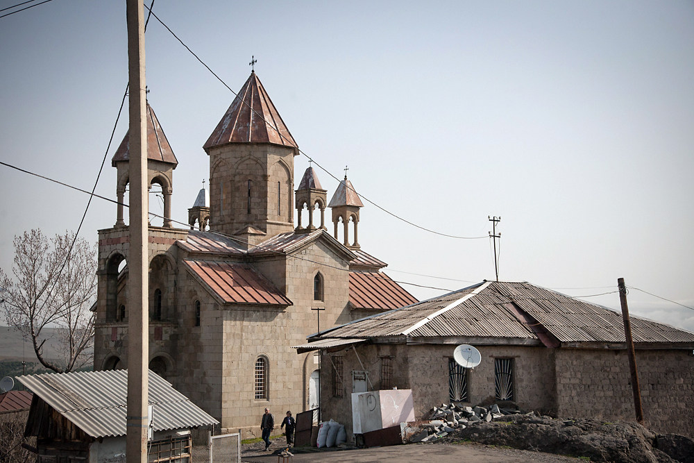 The former Armenian church in Akhaltsikhe is one of several contested churches in Samtskhe-Javakheti.