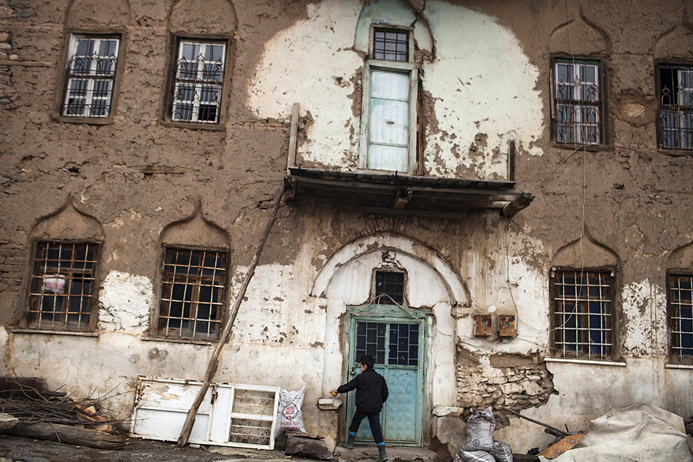 Many of the original Armenian homes in the historic Kale district of Muş have been demolished for urban improvements.