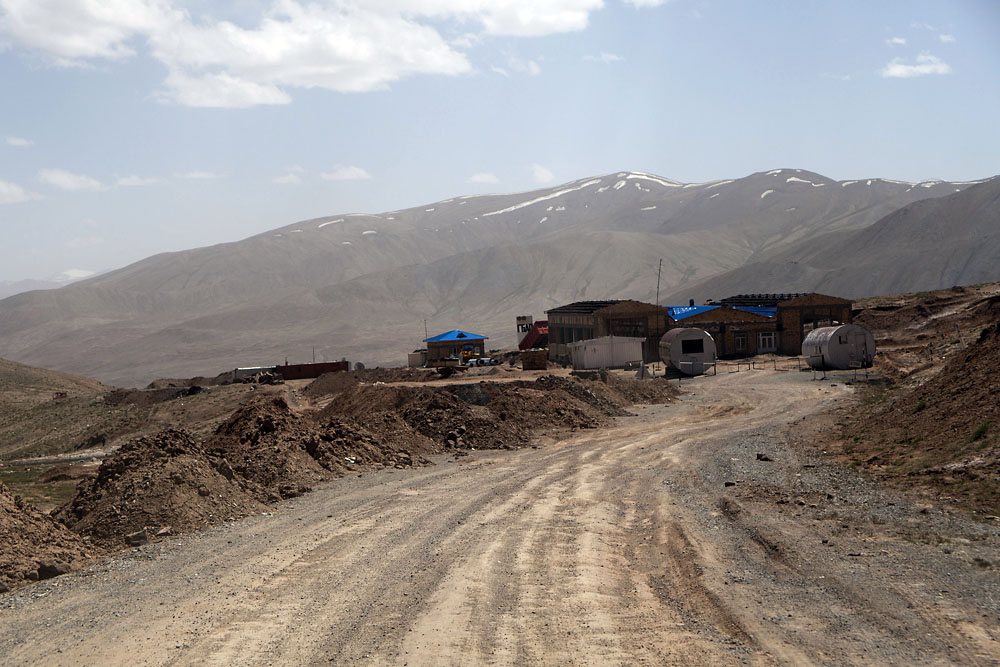Down the other side of the pass leads to the Tajik customs and passport control checkpoint.