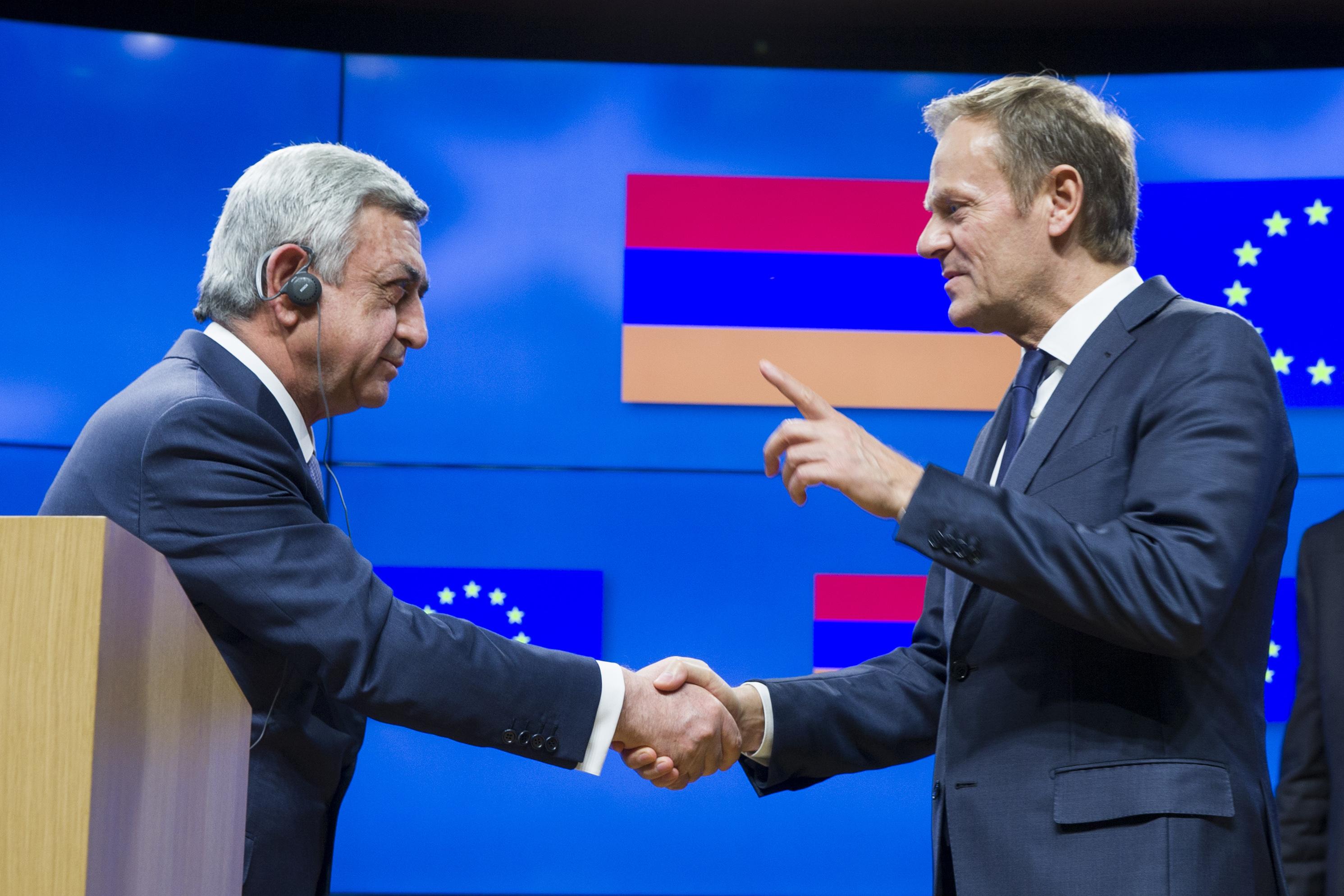 Armenia This Time Eu Deal Meets Russian Approval Eurasianet