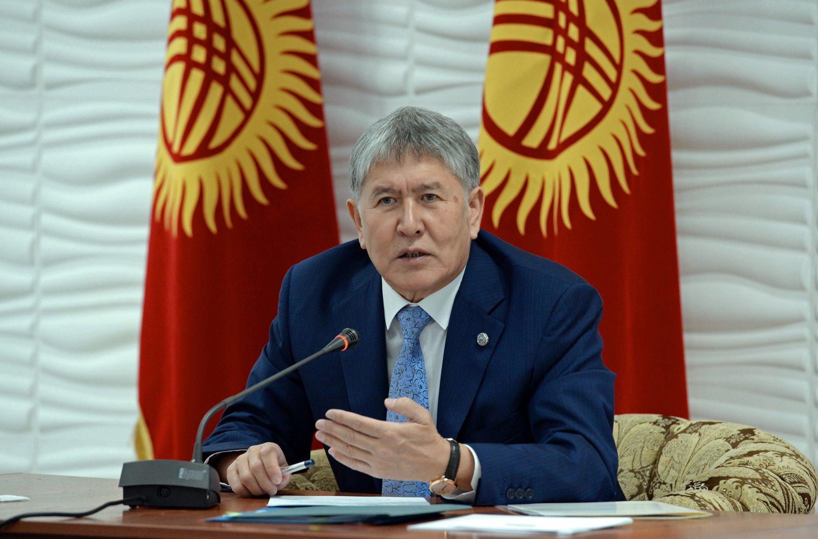Almazbek Atambayev became president of Kyrgyzstan 02.12.2011 15