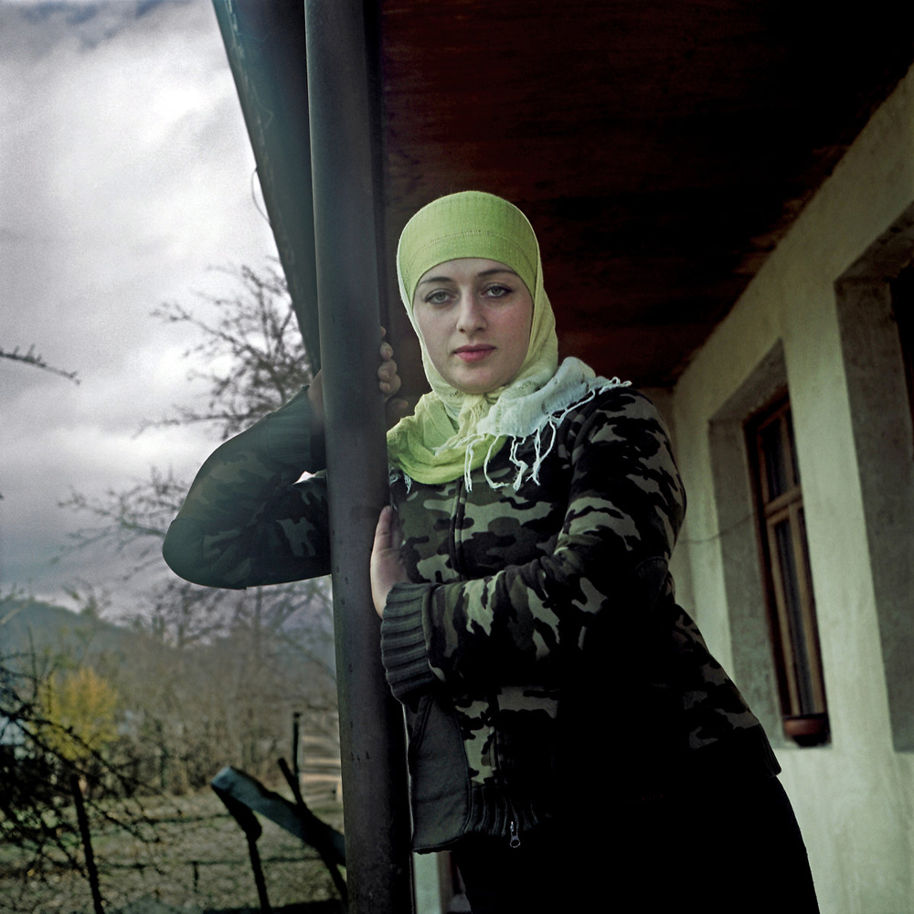 Inga Pareulidze moved with her family back to the Pankisi Gorge in 2004 after the murder of her sister in neighboring Chechnya.