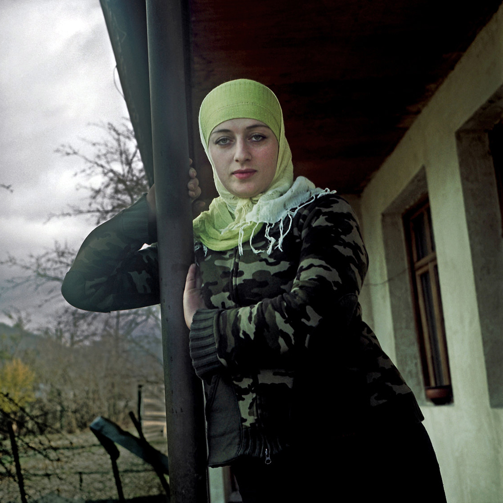 Inga Pareulidze's family moved back to the Pankisi Gorge in Georgia from Chechnya in 2004. (Justyna Mielnikiewicz)