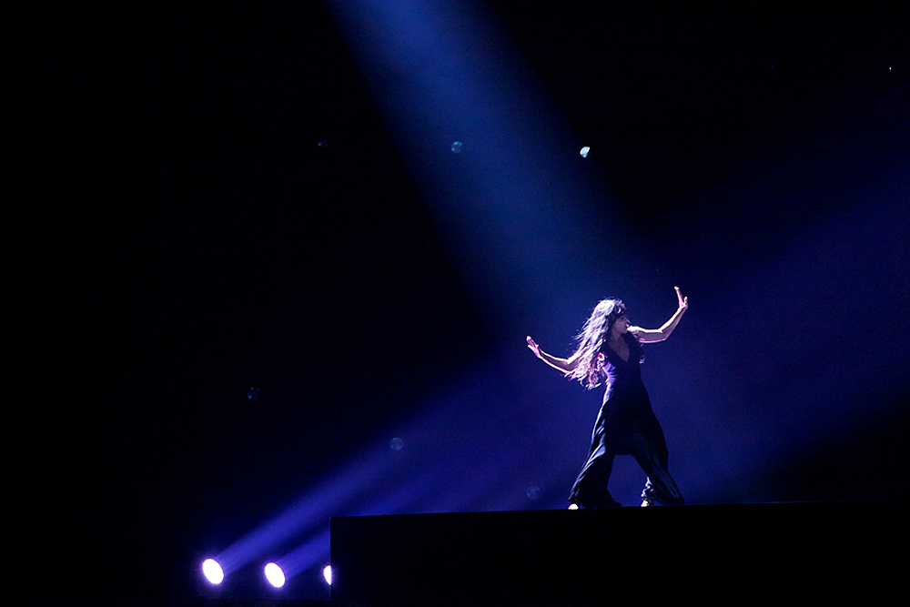 Sweden's Loreen won the Eurovision contest in Baku. (Sitara Ibrahimova)