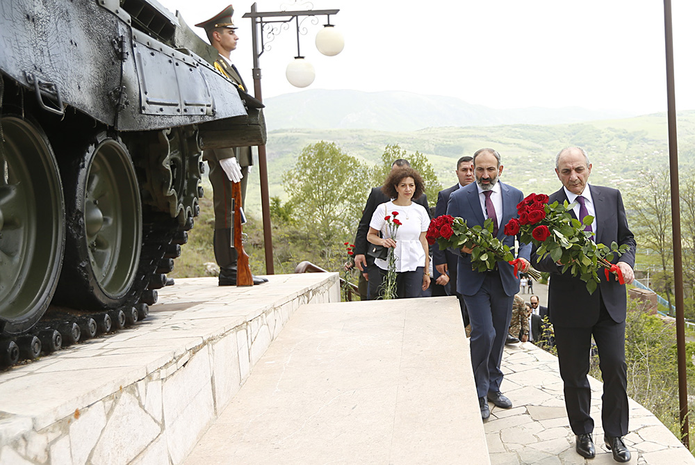 Pashinyan visits