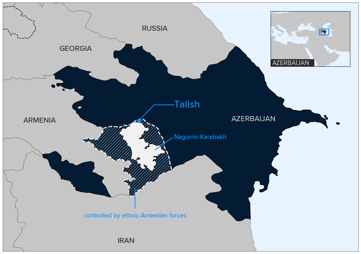 Karabakh Villagers Wary Of Returning To Showcase Village On Frontline Eurasianet