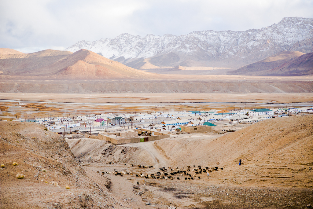 Murghab, at 3,600 meters above sea level, is the highest town in the former Soviet Union and today home to around 7,000 people