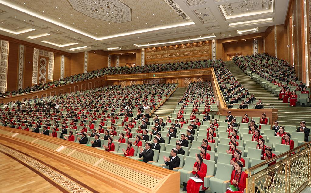 Turkmen students