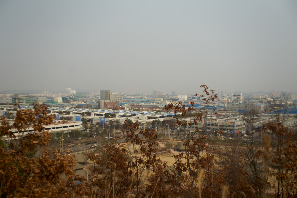 View of Sihwa Industrial Complex
