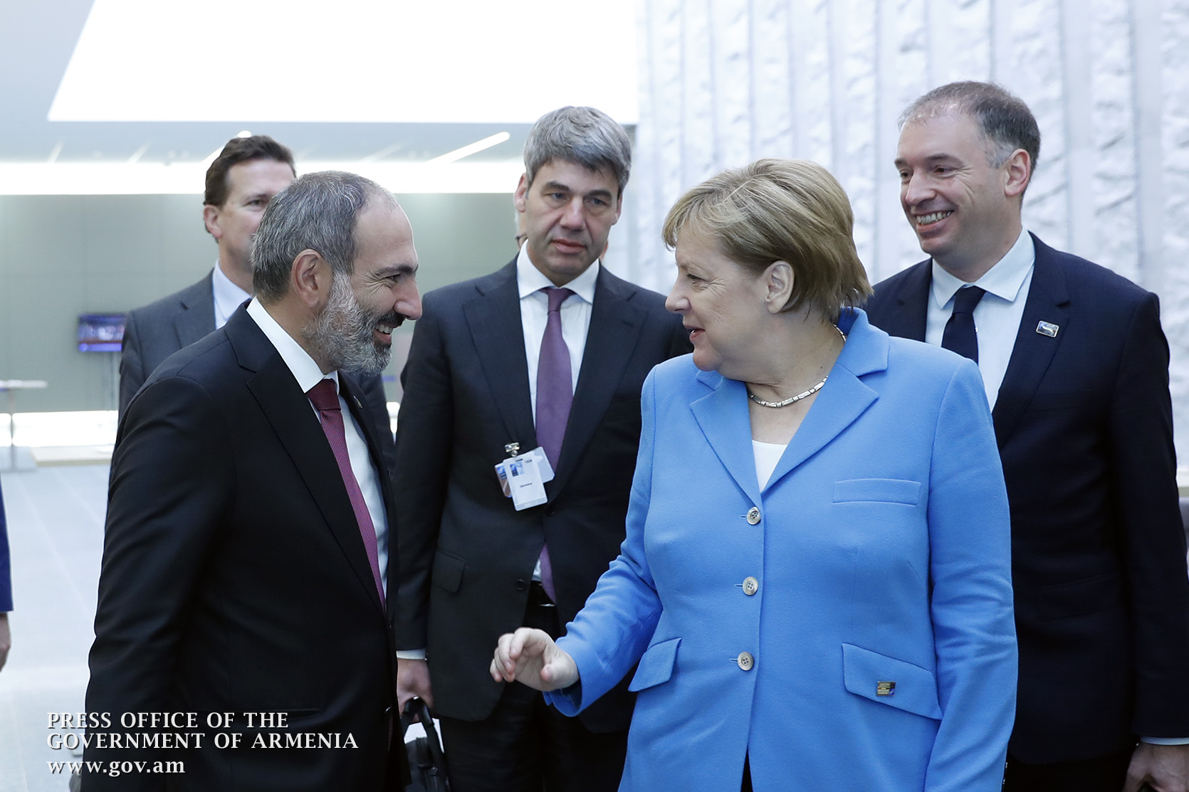 Pashinyan and Merkel