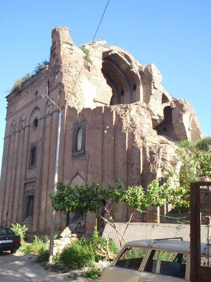 Shamkoretsots Sourb Astvatsatsin Church ruins