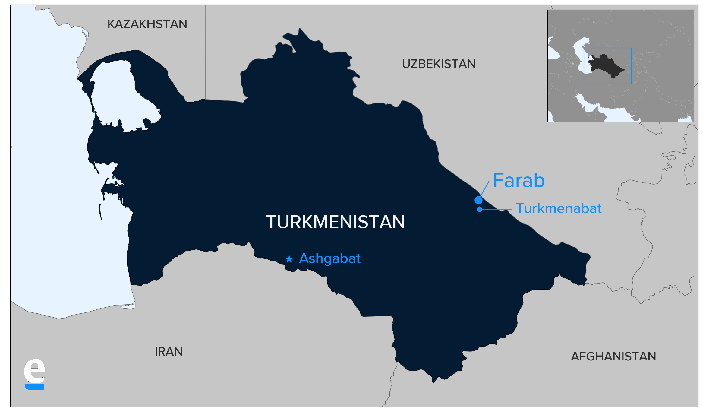 Turkmen border crossings