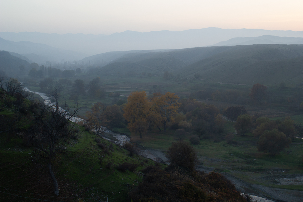 The countryside surrounding Goygol, Azerbaijan.