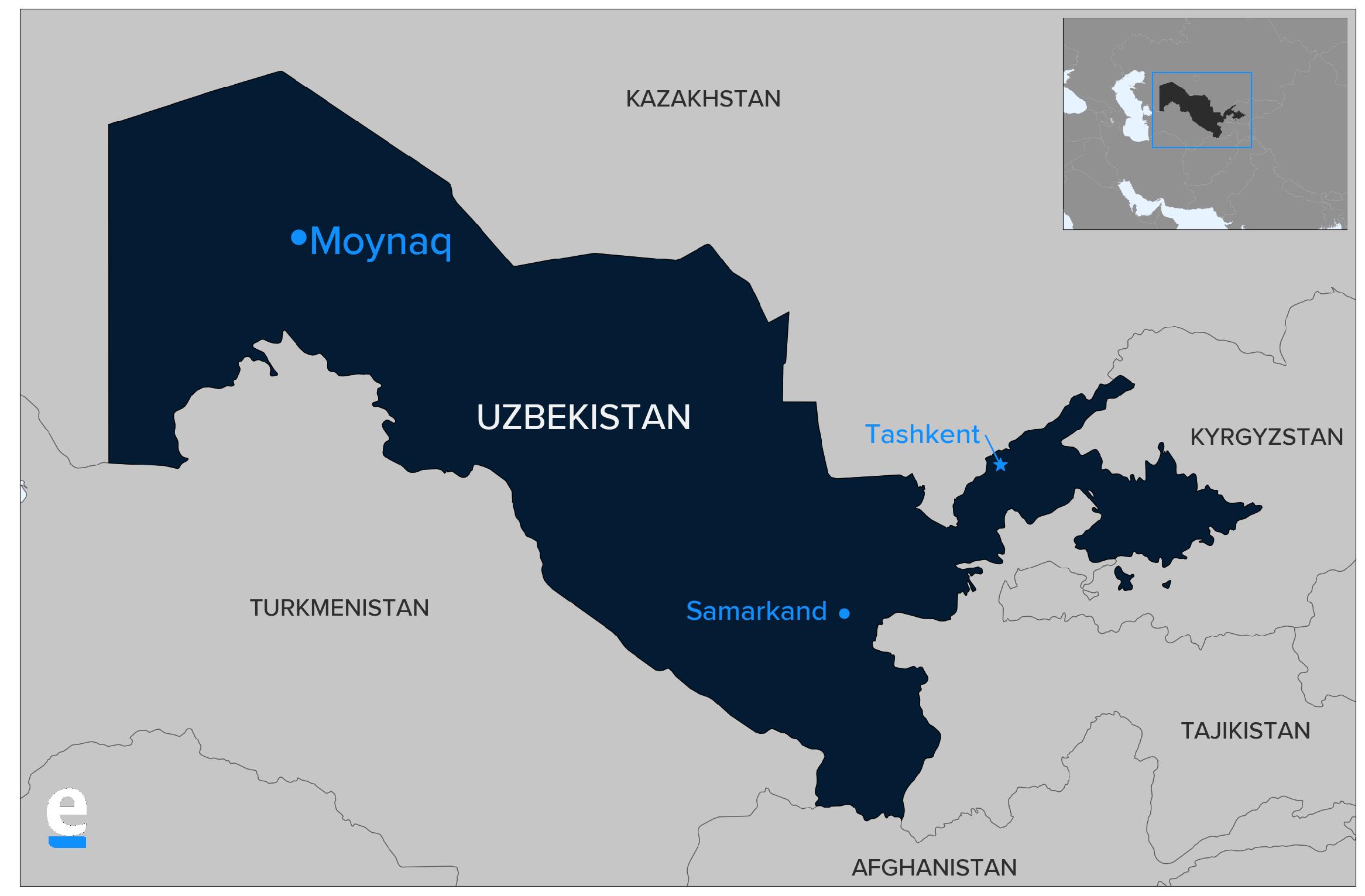 Moynaq map