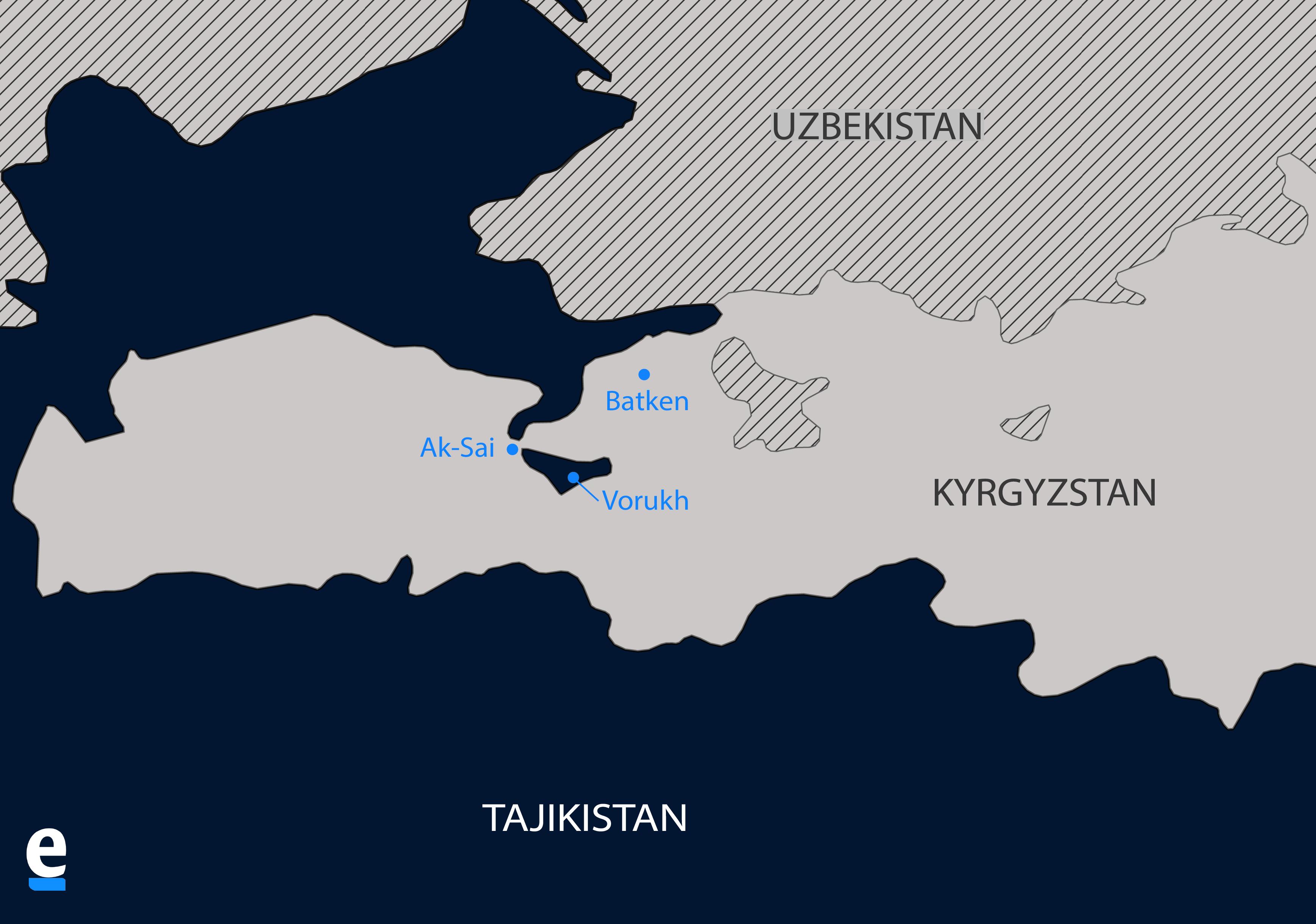Vorukh map - Aliya Uteuova