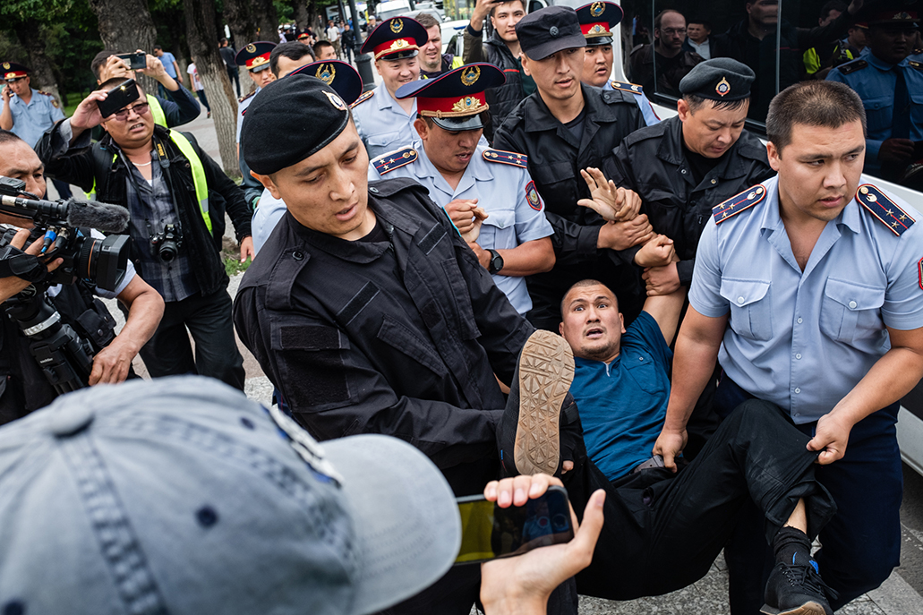 protests in Kazakhstan
