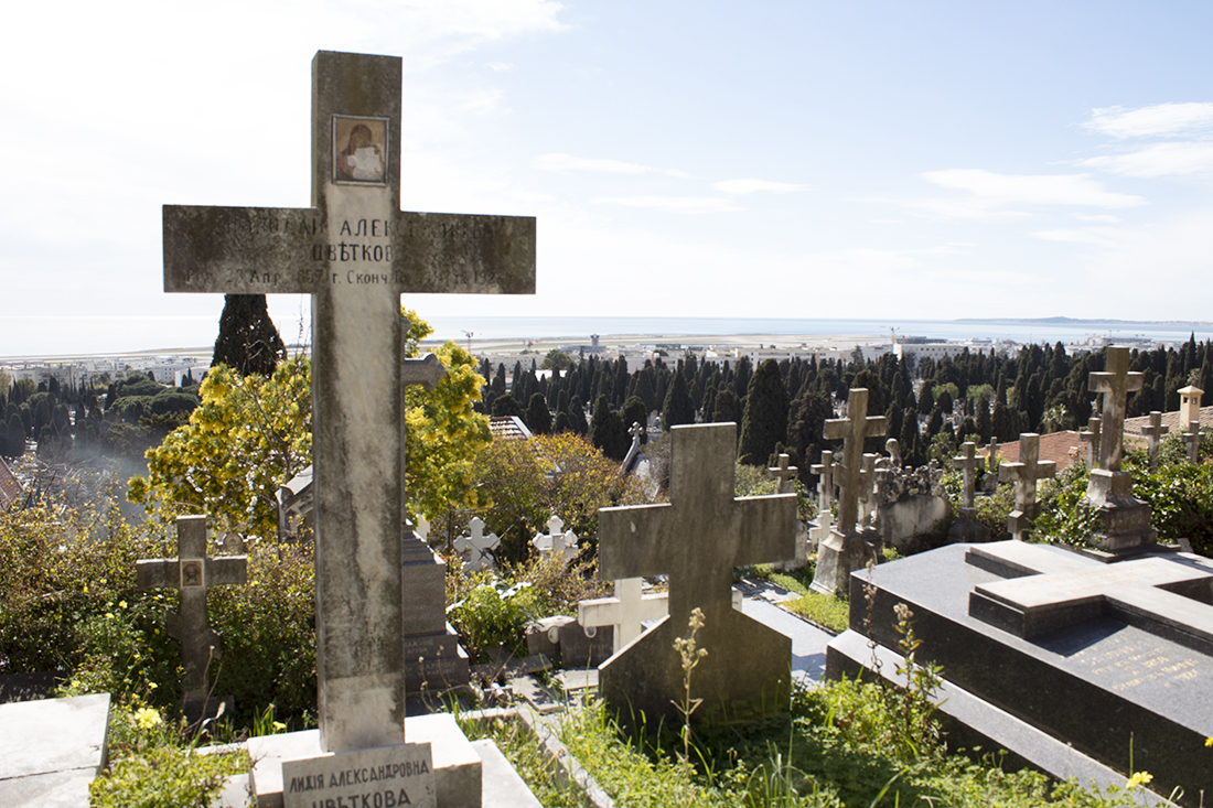 The Russian cemetery in Nice