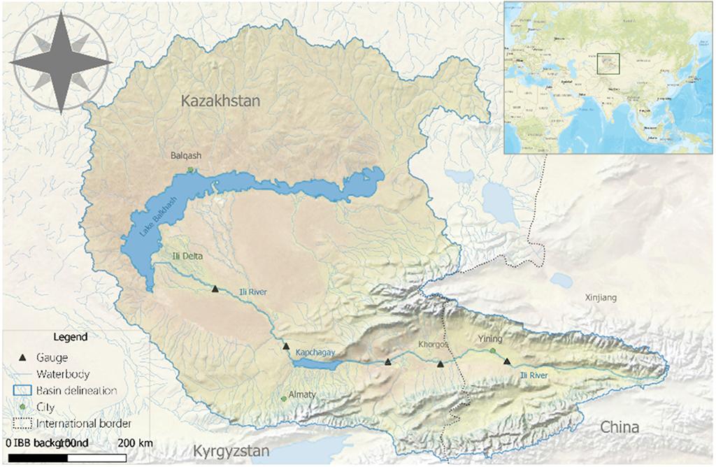 map Balkhash