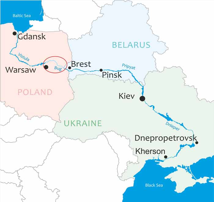 Development of the E40 Waterway