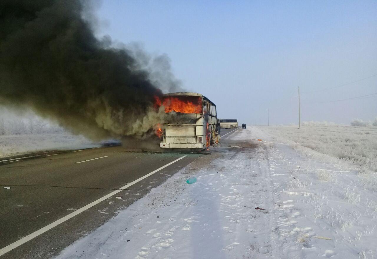 Bus fire kills 52 Uzbek migrant workers