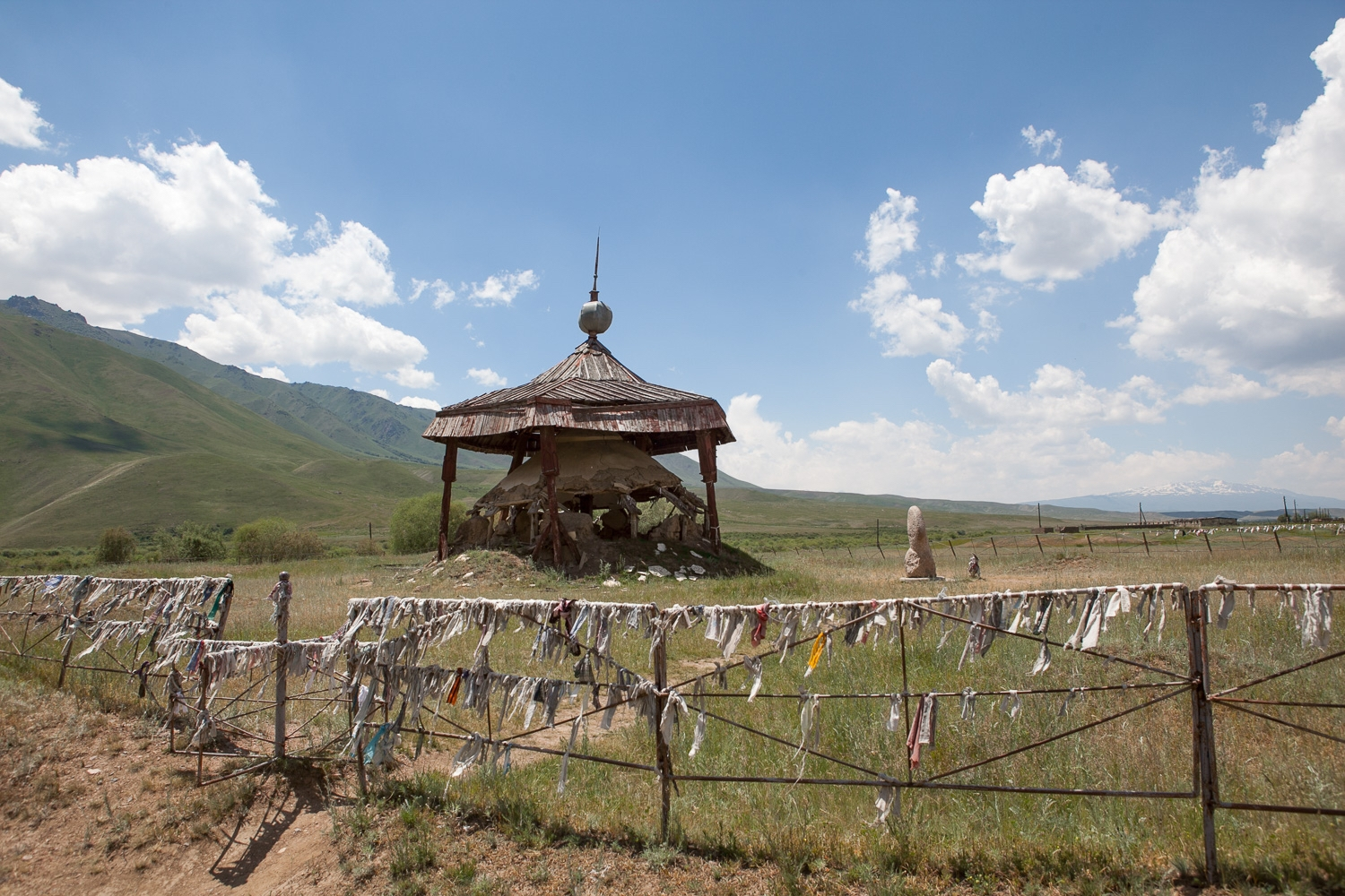 Central Asian Shrine