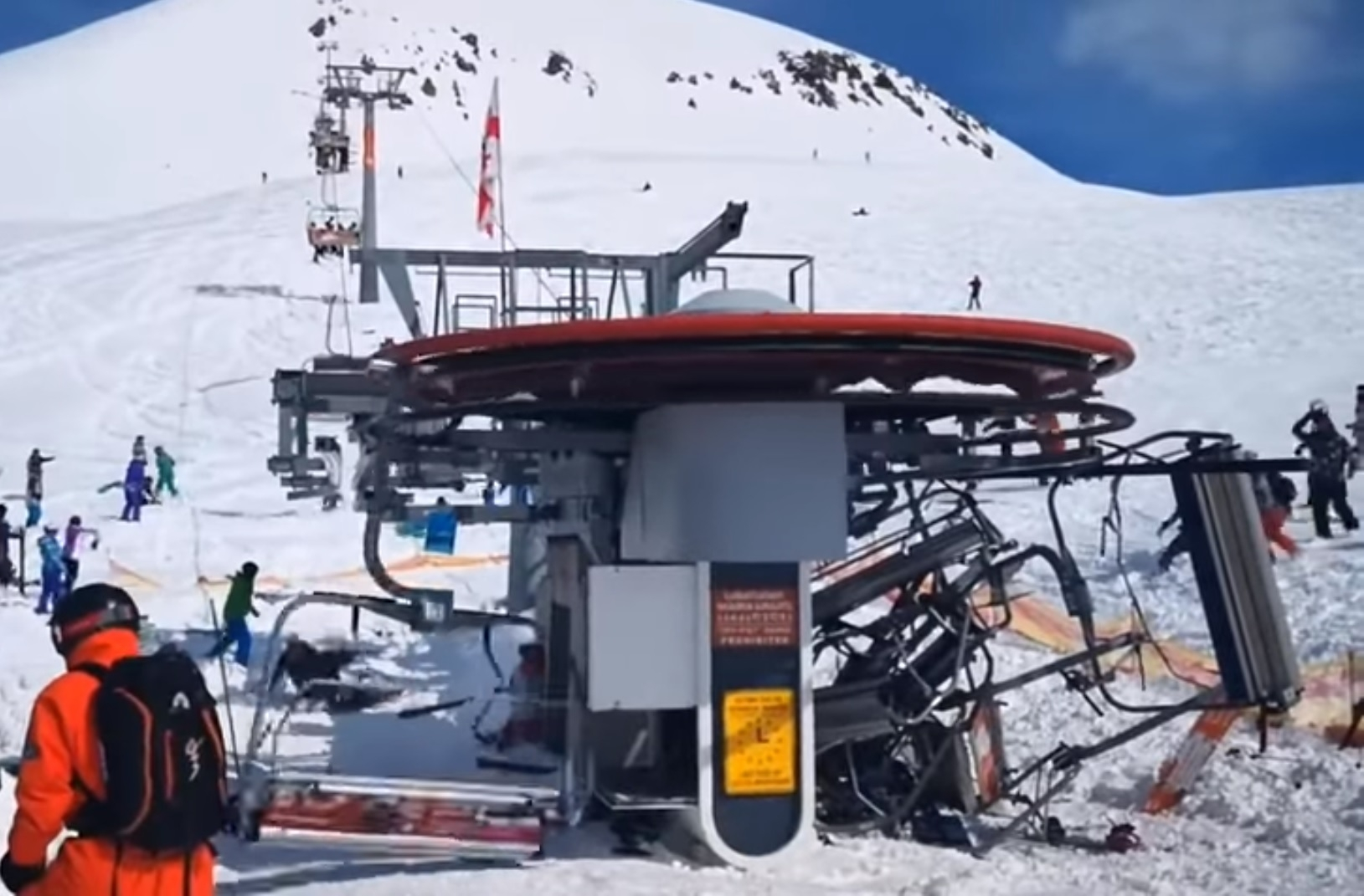 The Craziest Ski Lift Malfunction You Will Ever See