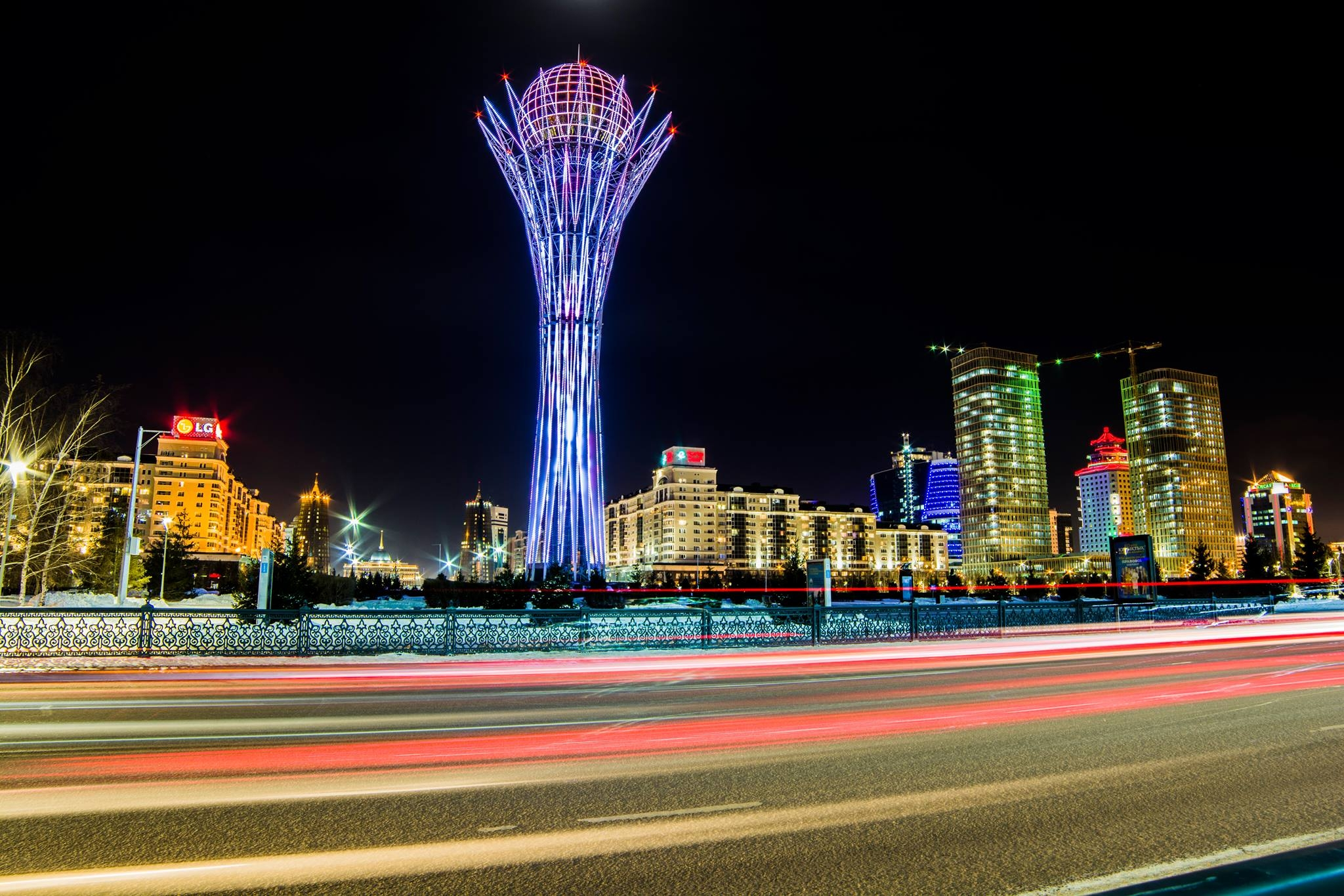 Bayterek Tower - Astana, Kazakhstan. (Photo: Pharohl Charles)