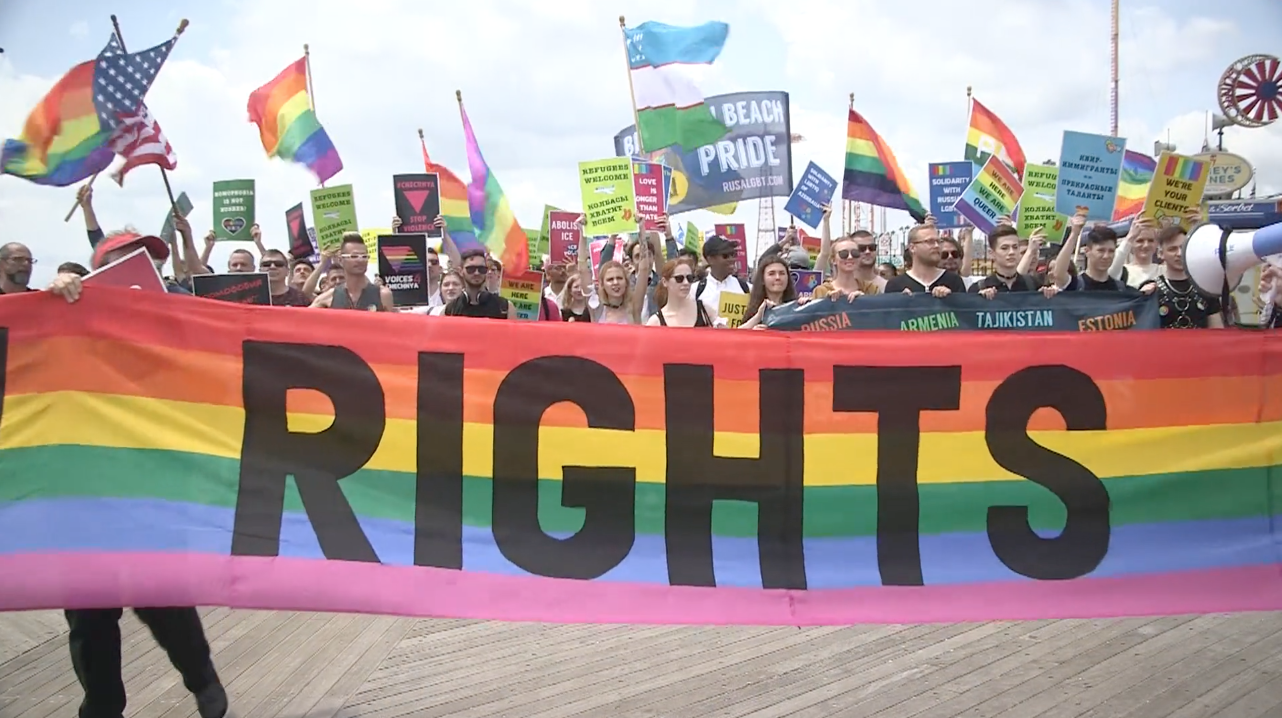 Brighton Beach Pride Parade 2018