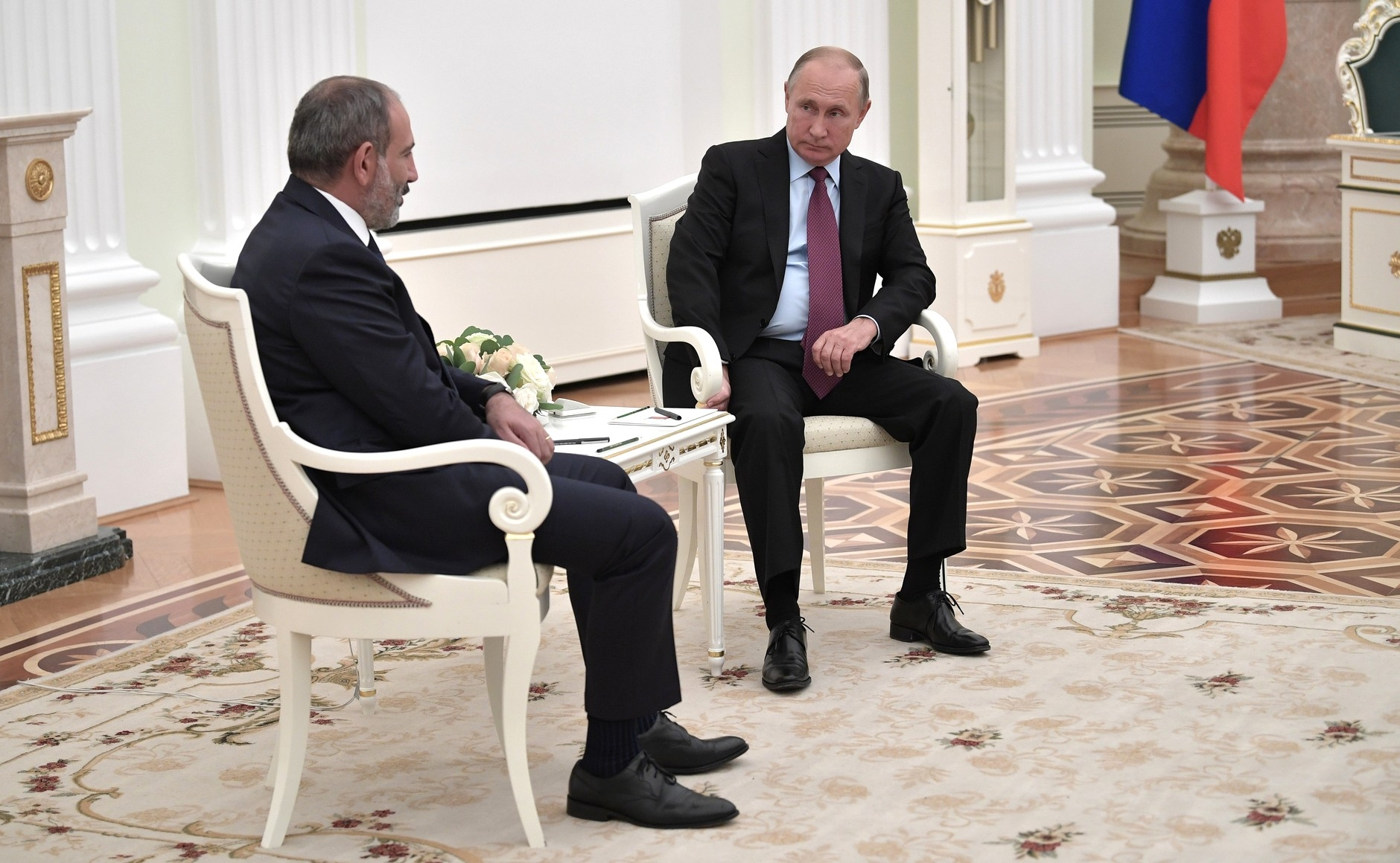 Putin and Pashinyan