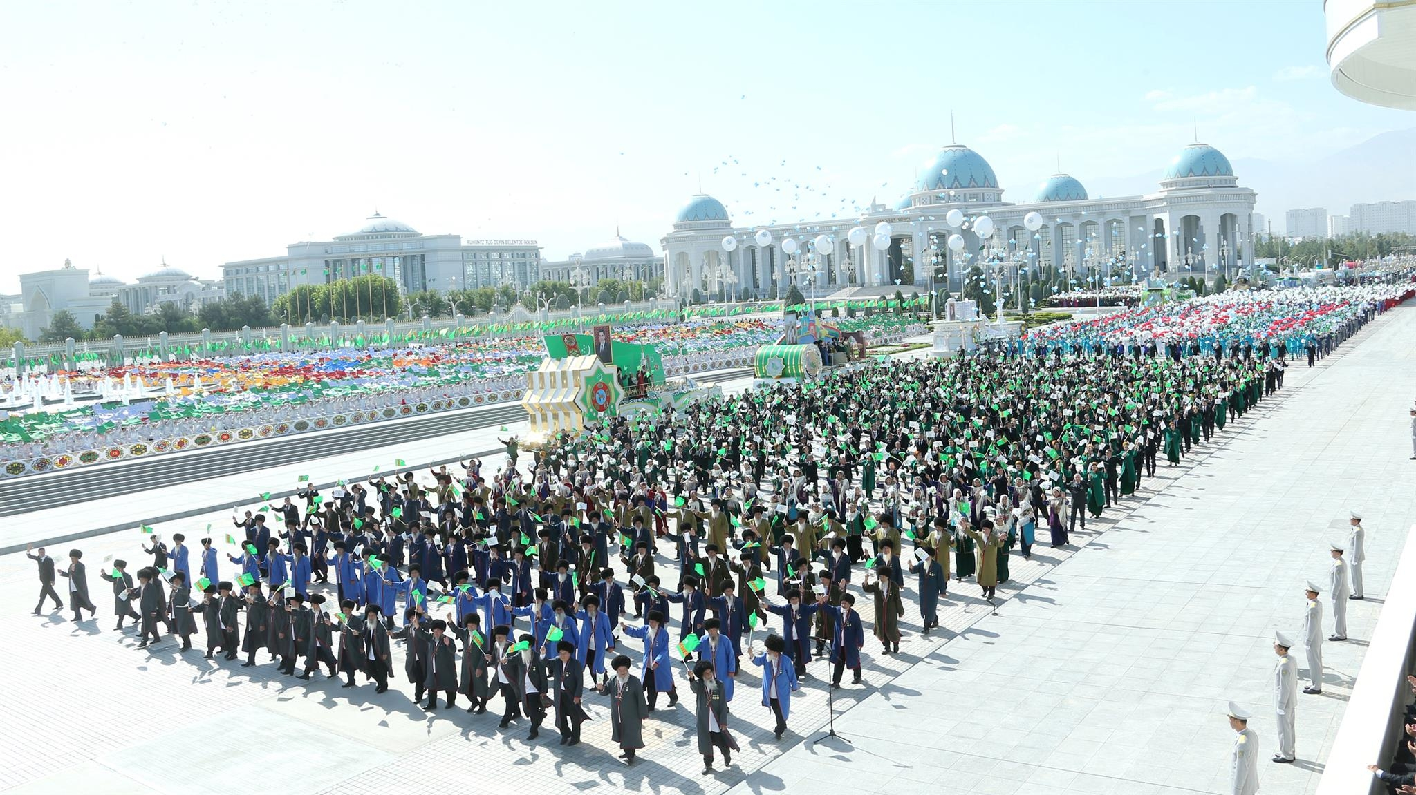 27th anniversary of Turkmenistan's independence