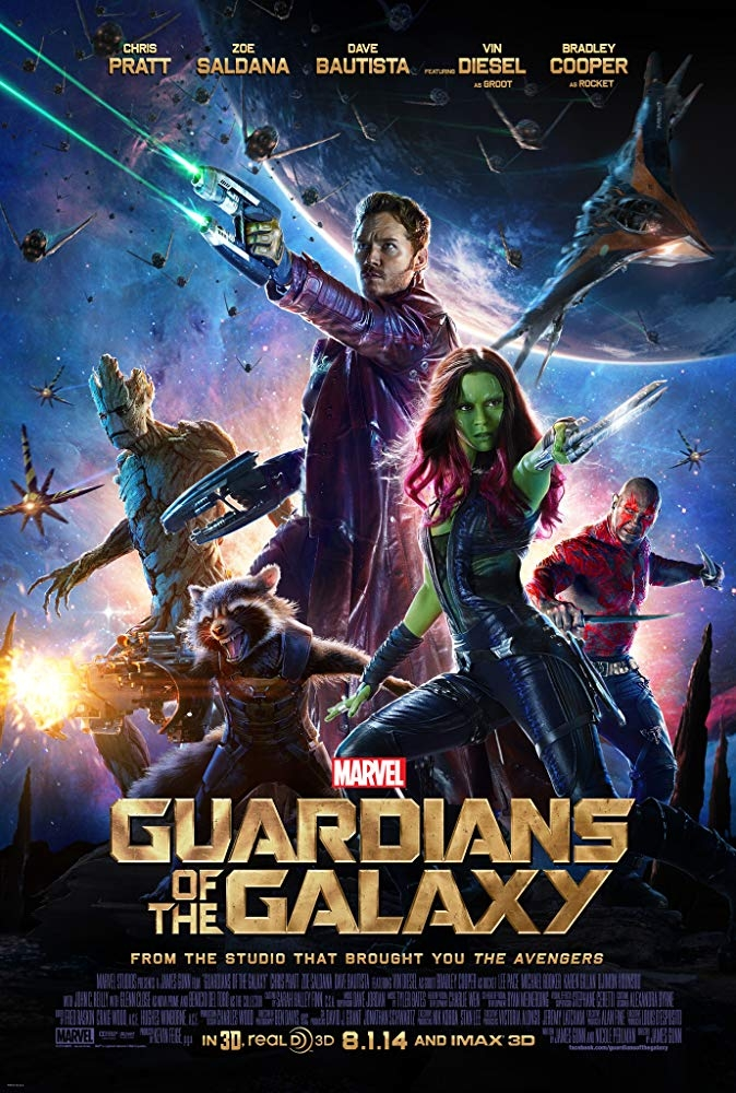 Guardians of the Galaxy, one of the few movies to get the Kazakh dubbing treatment. (Photo: Marvel Studios)