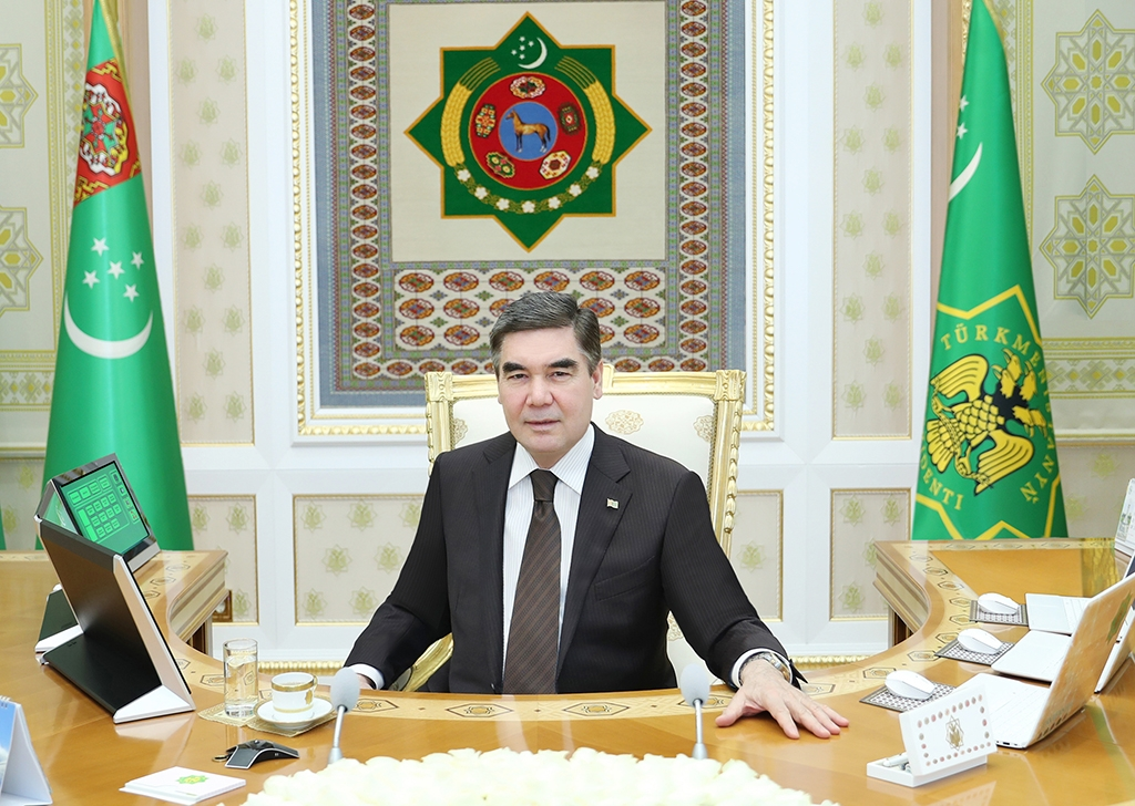 What, me worry?: Turkmen leaders skips science to save on costs. (Photo: Turkmenistan government website)