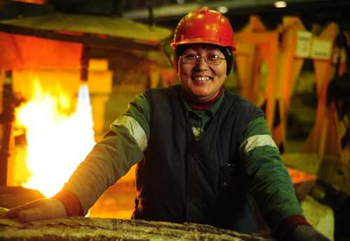 No laughing matter. (Photo: ArcelorMittal Temirtau website)