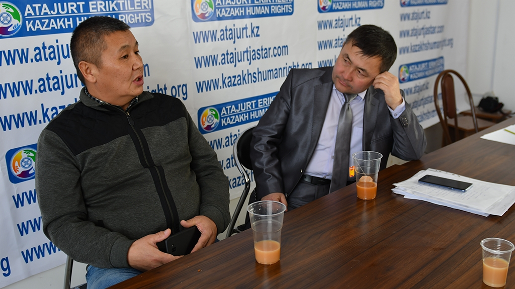 the Astana branch of human rights organization Ata-Jurt