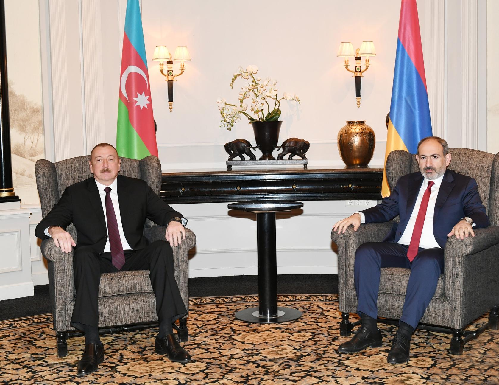 First formal Aliyev-Pashinyan meeting deemed a success | Eurasianet
