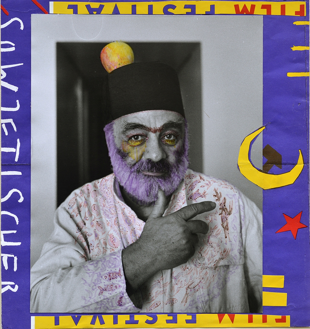 Self-Portrait of Sergei Parajanov with a Fez in Istanbul