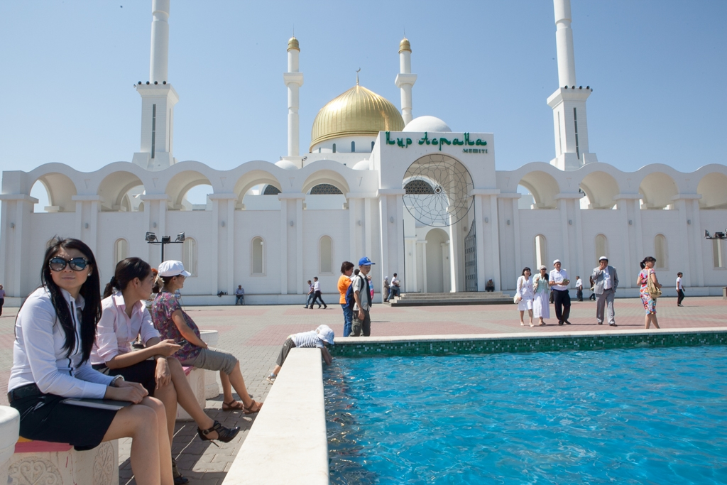 A mosque in Nazarbayev