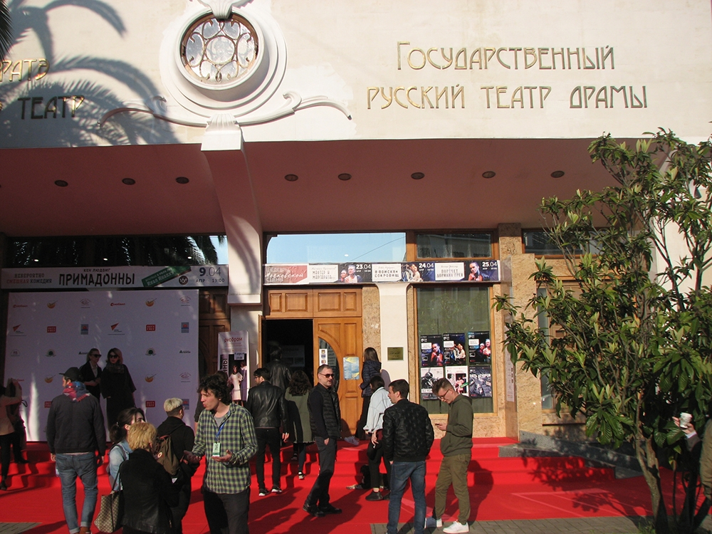 Sukhum rolls out the red carpet (Neil Hauer)