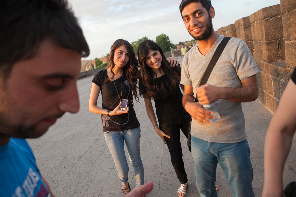 Students in Diyarbakir, Turkey (David Trilling)