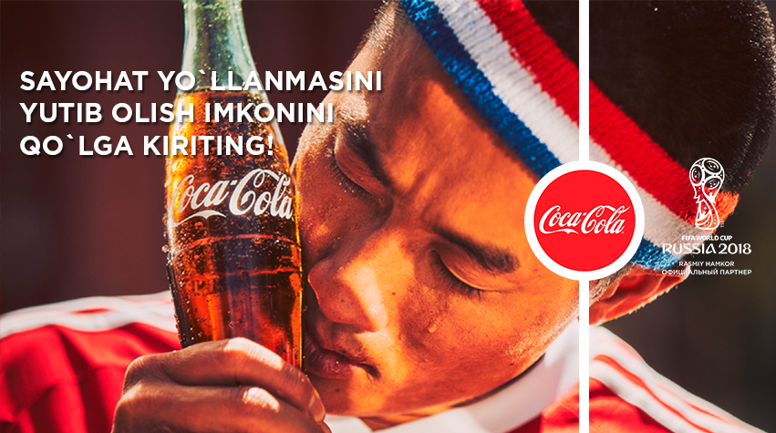 Coca-Cola is it! (Photo: Coca-Cola Uzbekistan Facebook page)