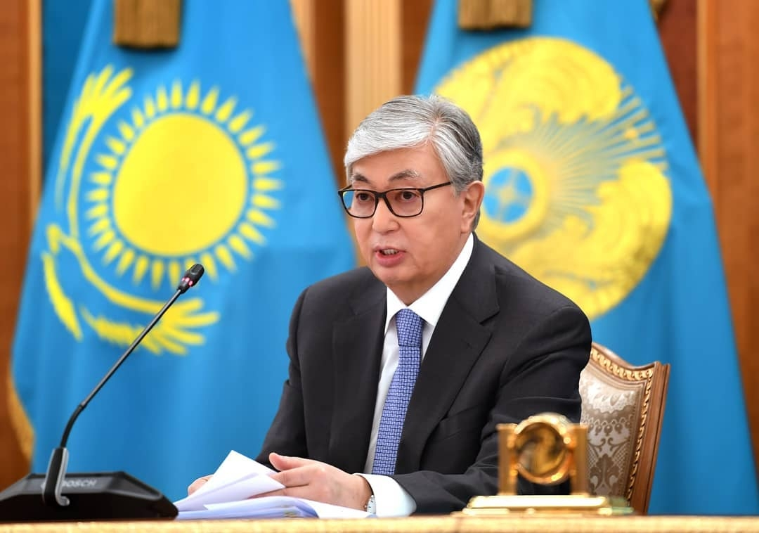 Will Tokayev win June 9 election? Shhh, don't ask. (Photo: Kazakhstan presidential administration)